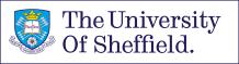Logo of the University of Sheffield - TFI Network+ partner.